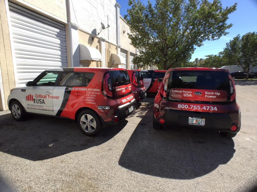 Commercial Fleet Vehicle Wraps Davie