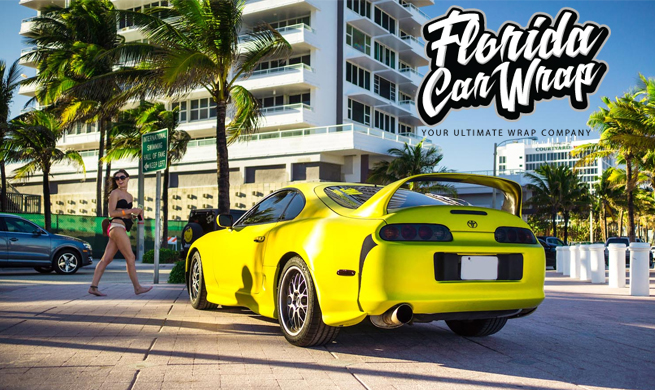 Car Wraps Fort Lauderdale FL