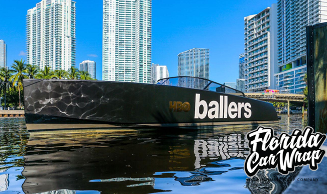 Boat Wraps Miami FL