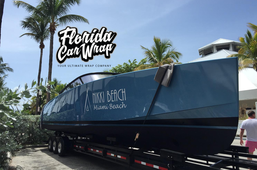 Boat Wraps Florida